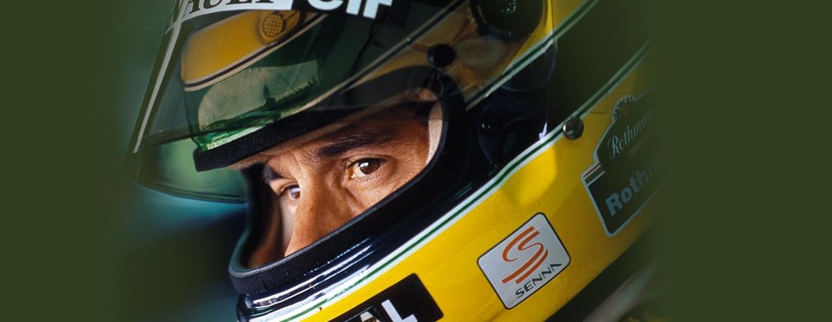 Modèle photo originale Ayrton Senna